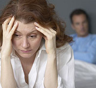 Woman and Man Divorcing