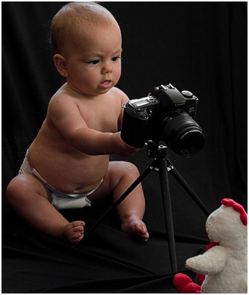 Baby with a Camera