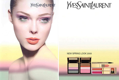 Coco Rocha for Yves Saint Laurent Spring Collection