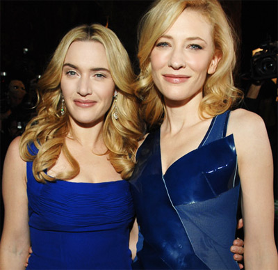 Kate Winslet and Cate Blanchett