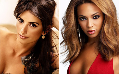 Penelope Cruz and Beyonce