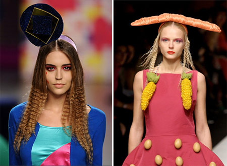 Agatha Ruiz de la Prada Weird Fashion Hats