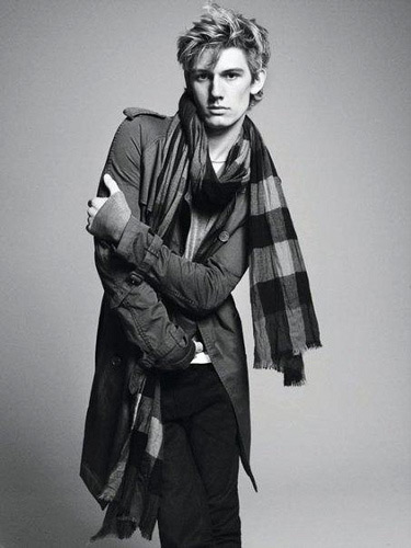 Alex Pettifer for Burberry