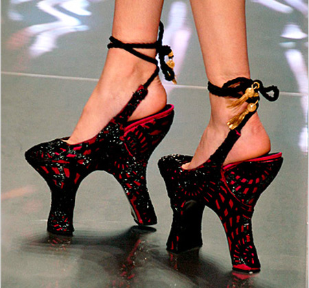 Alexander McQueen Crazy Shoes