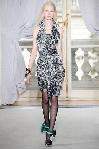 Balenciaga Black and White Dress