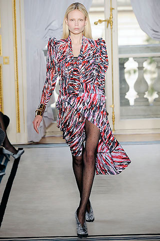 Balenciaga Futuristic Colorful Dress