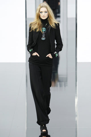 Chanel Black Suit