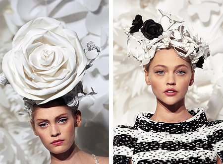 Chanel Weird Fashion Hats