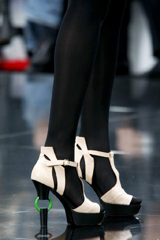 Chanel Shoes with Ring Detail