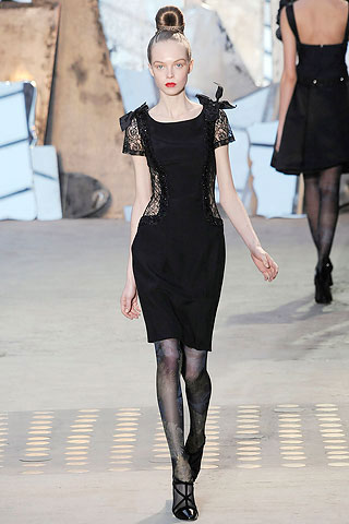 Christian Lacroix Black Dress