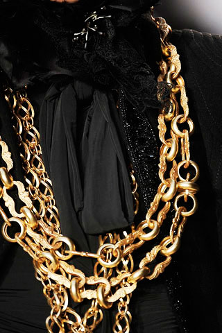 Christian Lacroix Golden Necklace