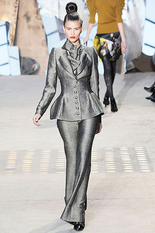 Christian Lacroix Grey Suit