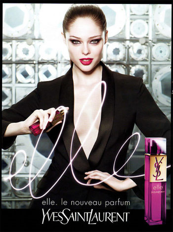 Coco Rocha for Elle YSL