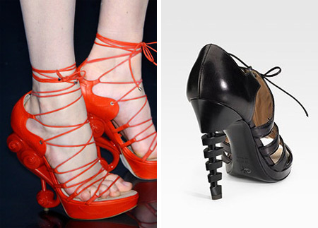 Dior and Proenza Schouler Weird Shoes