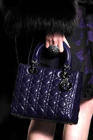 Dark Blue Dior Bag