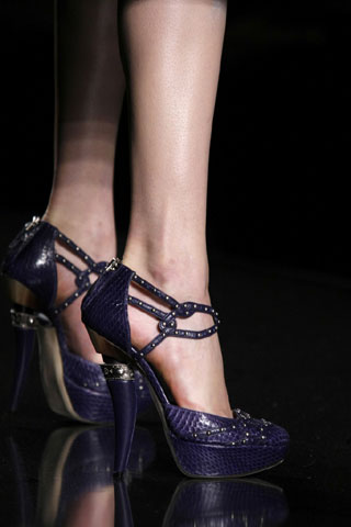 Dark Blue Dior Shoes
