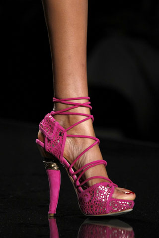 Pink Dior Shoes