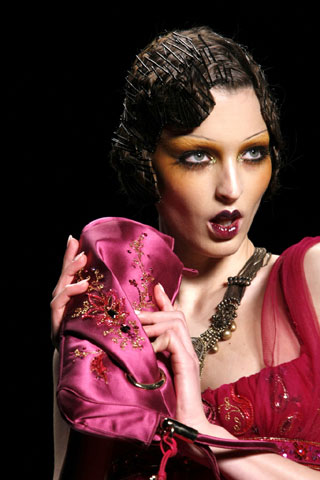 Dior Model - Paris Fashion Week Spring 2009
