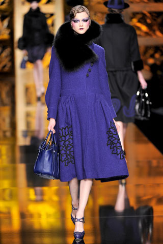 Dior Blue Coat