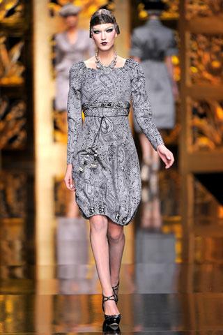 Grey Dior Dress