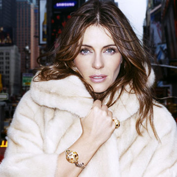 Elizabeth Hurley in Fur