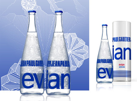 Evian by Jean-Paul Gaultier