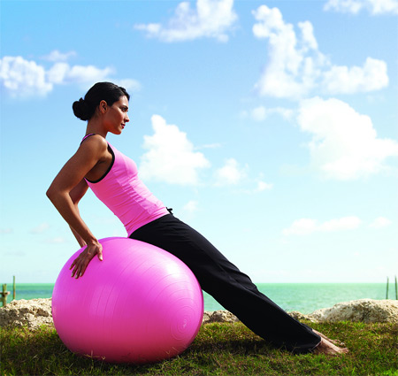 Fitball Exercise