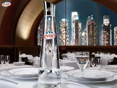 Gaultier Evian Bottle Design