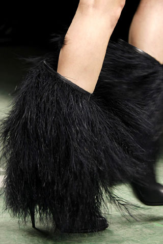 Givenchy Feather Boots