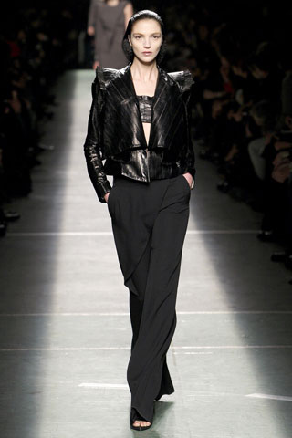 Givenchy Gothic Leather Jacket