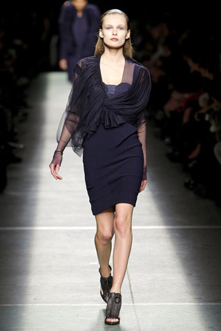 Givenchy Navy Dress