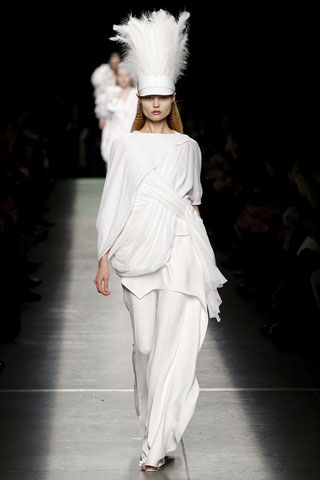 Givenchy Weird White Hat