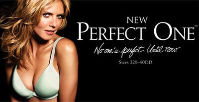 Heidi Klum The Perfect Bra Ad