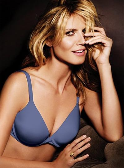 Heidi Klum The Perfect Bra Blue
