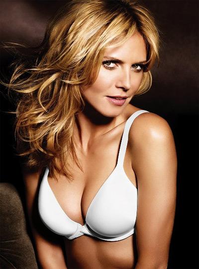 Heidi Klum The Perfect Bra White