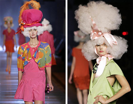 John Galliano Weird Fashion Hats