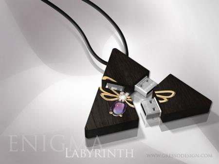 Gresso Enigma Labyrinth USB Flash Cards