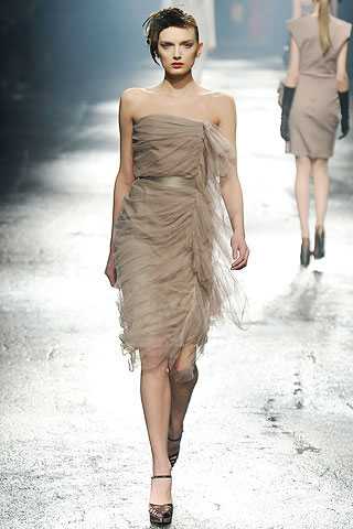 Lanvin Beige Dress