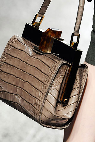 Lanvin Crocodile Handbag