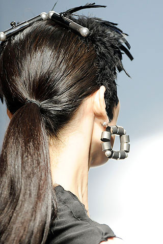 Lanvin Earings and Hair Accessories