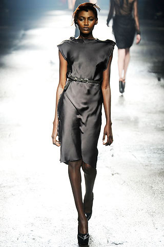 Lanvin Grey Dress