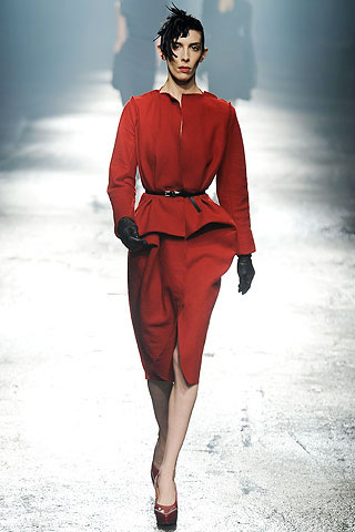 Lanvin Red Dress