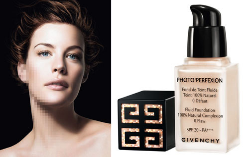 Liv Tyler for Givenchy Fluid Foundation