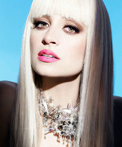 Nicole Richie with Straight Hair