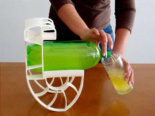 Roll 'n Pour Used with 2 Liter Bottle