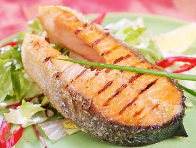 Salmon Is Rich in Proteins
