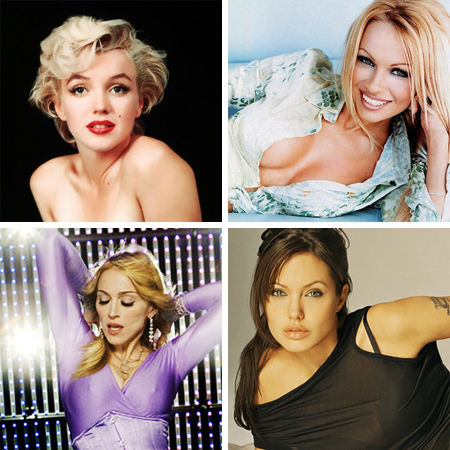 The Sexiest Hollywood Women