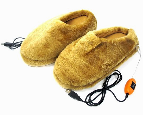 USB Powered Slippers