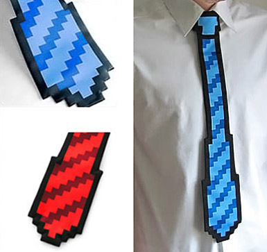 an 8 bit tie for your gift ideas geniusbeauty