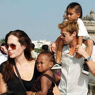 Angelina Jolie and Brad Pitt Family